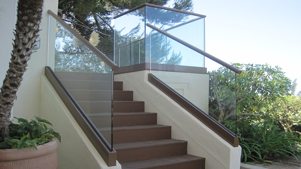 Glass Walls Balcony Railings Staircase Glass Railing Hand ...